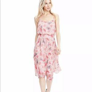 Banana Republic Strappy Midi Dress Floral- NWOT
